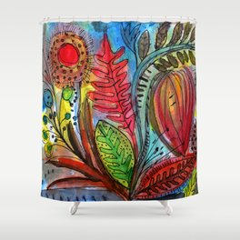 Sun Garden Shower Curtain