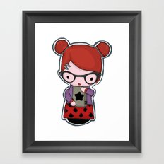 momiji Framed Art Print