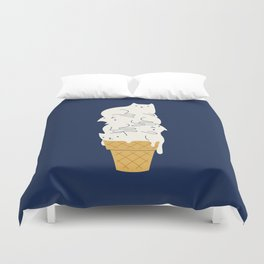 Meowlting Duvet Cover