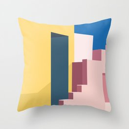 Architectural colors 3 Throw Pillow