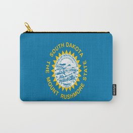 flag of south dakota,america,us,mount rushmore,dakotan,midwest,Sioux fall,rapid city,aberdeen,Pierre Carry-All Pouch