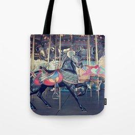 Black Stallion! Tote Bag