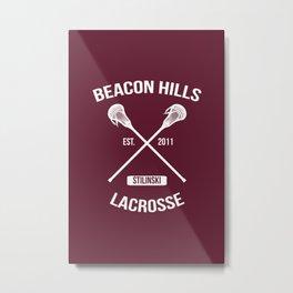 Beacon Hills Teen Wolf Stilinski Metal Print