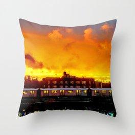 Bronx Sunset Throw Pillow