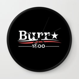 burr1800 Wall Clock