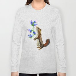 Take Time To Smell The Flowers by Teresa Thompson Long Sleeve T-shirt
