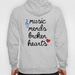 Music Mends Broken Hearts Hoody