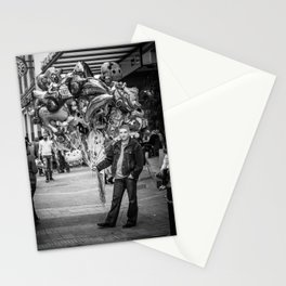 The balloon man II Stationery Cards