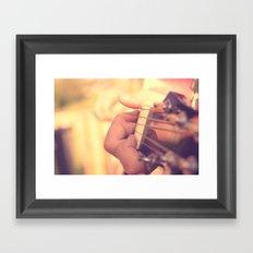 Summer Chord  Framed Art Print