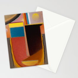 Alexej von Jawlensky - Abstrakter Kopf Klarheit - Abstract Head Clearness Stationery Cards