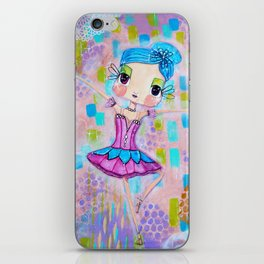 Ande Ballerina Dew Drop Fairy iPhone Skin