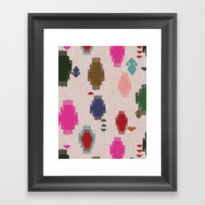 Dhurrie Framed Art Print