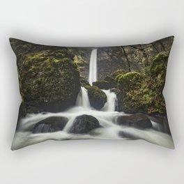 Elowah Falls, Horizontal Rectangular Pillow