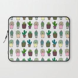 Succulent Pattern Laptop Sleeve
