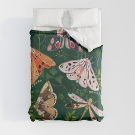 Moths and dragonfly Comforters
