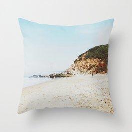 Golden Gate Glimpse Throw Pillow