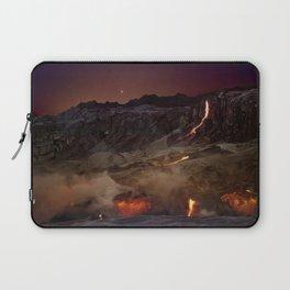 Kilauea Volcano Lava Flow. 6 Laptop Sleeve