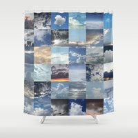 skyline Shower Curtains featuring Skyline by Jyenormus.com