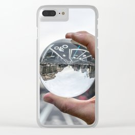 That Upside Down Feeling Clear iPhone Case