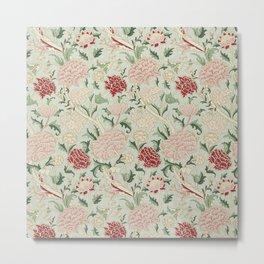 William Morris Cray Floral Pre-Raphaelite Vintage Art Nouveau Pattern Metal Print