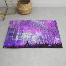 Lots Of Confetti At Festival Purple Shade Ultra HD Rug