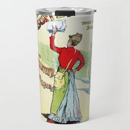 Female singer Eugenie Buffet Travel Mug