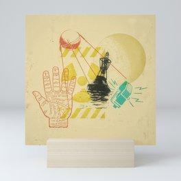 Lunar Buoy Contact Warning Signal Confirmed Mini Art Print