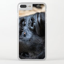 Smug Look Clear iPhone Case