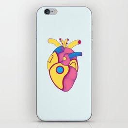 Yellow Submarine Heart iPhone Skin
