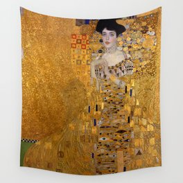 THE LADY IN GOLD - GUSTAV KLIMT Wall Tapestry