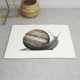 galactic snail saturn Rug