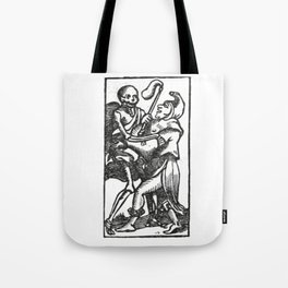 Death dancer Tote Bag
