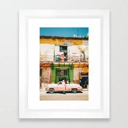Summer in Cuba Framed Art Print