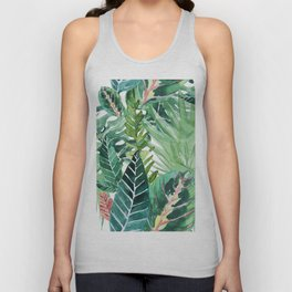 Havana jungle Unisex Tank Top
