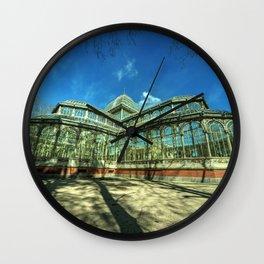Crystal Palace of Madrid Wall Clock