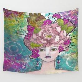 Peony1 Wall Tapestry