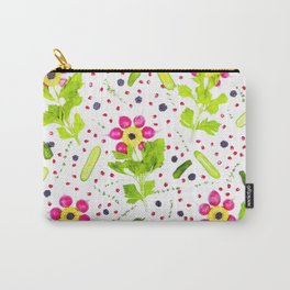 Fruits and vegetables pattern (15) Carry-All Pouch