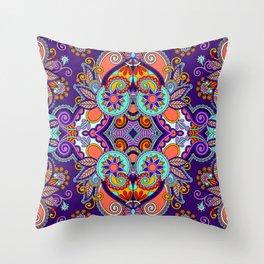 Kerchief Knitting Patterns Throw Pillow