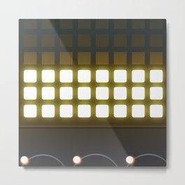 Display Panel Lights Metal Print