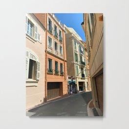 Monaco  Monte Carlo Cityscape Metal Print