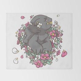 Garden Banette Throw Blanket