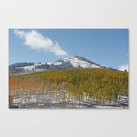 colorado Canvas Prints featuring Colorado by Chris Root