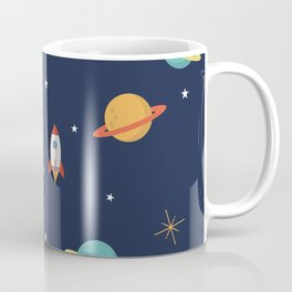 Space Pattern Coffee Mug