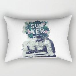 Vintage summer vibes Rectangular Pillow