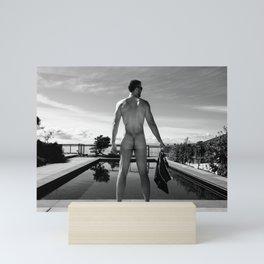 Swim Naked Mini Art Print