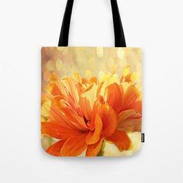 Glowing Marigold Tote Bag