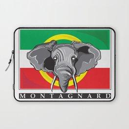 Montagnard Flag Laptop Sleeve