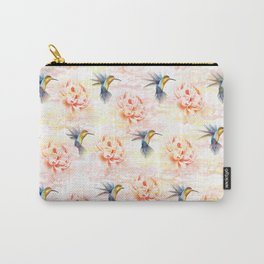 Colibri pattern Carry-All Pouch