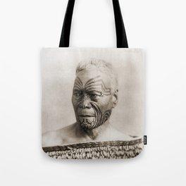 Maori Portrait by Arthur James Iles Tote Bag