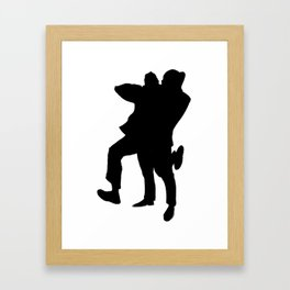 hugs Framed Art Print